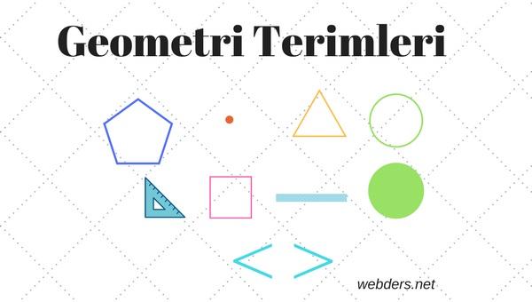 geometri terimleri webders net