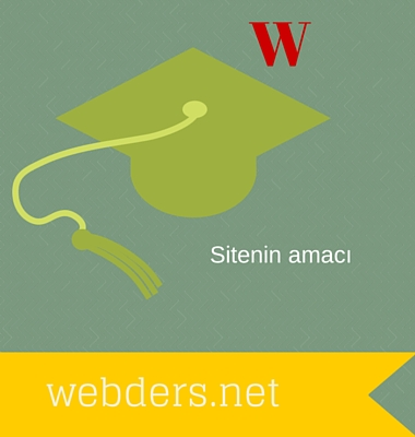 webders.net'in amacı