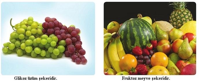 glikoz ve fruktoz