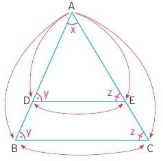 benzer üçgenler