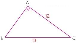 dik üçgende alan