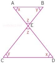 üçgende kelebek benzerliği