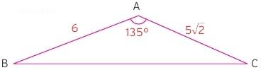 özel üçgenin alanı