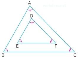 üçgende benzerlik