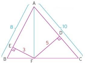 üçgensel bölgenin alanı