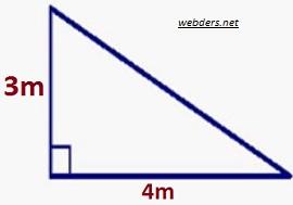 üçgenin alanı örnek